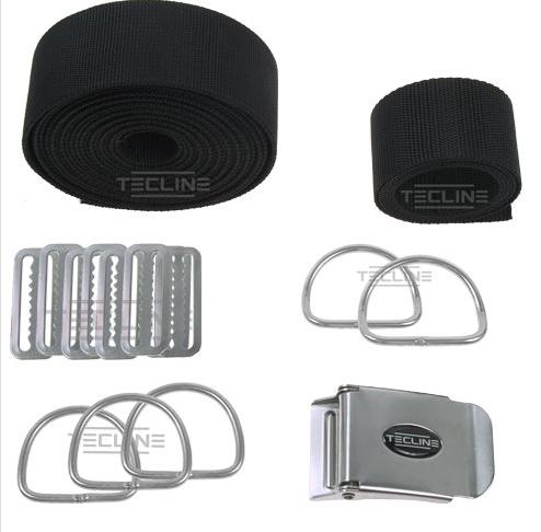 Harness Tecline DIR - feste D-Ringe (ohne Backplate) [Scubatech] 1