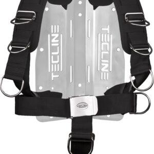 Harness Tecline Komfort (einstellbar) mit 3 mm Edelstahl-Backplate [Scubatech] 9