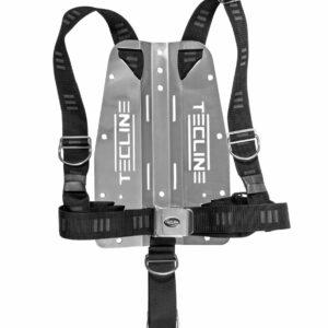 Harness Tecline DIR weich mit 3 mm Edelstahl-Backplate (mit Logo) [Scubatech] 8