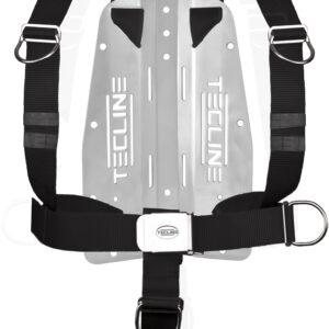 Harness Tecline DIR mit 3 mm-Edelstahl-Backplate (mit Tecline-Logo) [Scubatech] 7