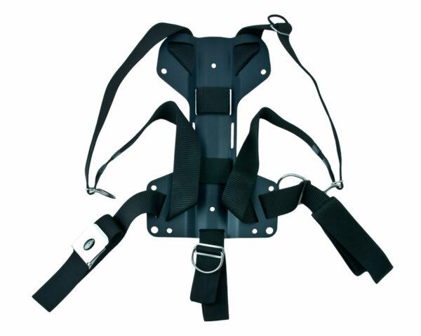 Harness Tecline DIR mit H-förmiger 3 mm Aluminium-Backplate [Tecline] 1