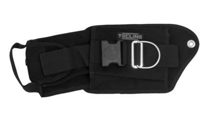 Bleitasche links mit Einsatz und Spezialschraube [Tecline] 1