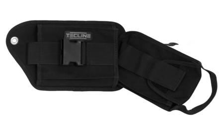 Bleitasche rechts mit Einsatz und Spezialschraube [Tecline] 1