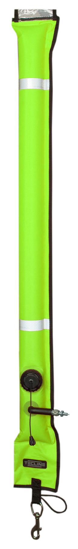 Boje, geschlossen, 11 x 117 cm, OPR-Ventil - Gelb [Tecline] 1