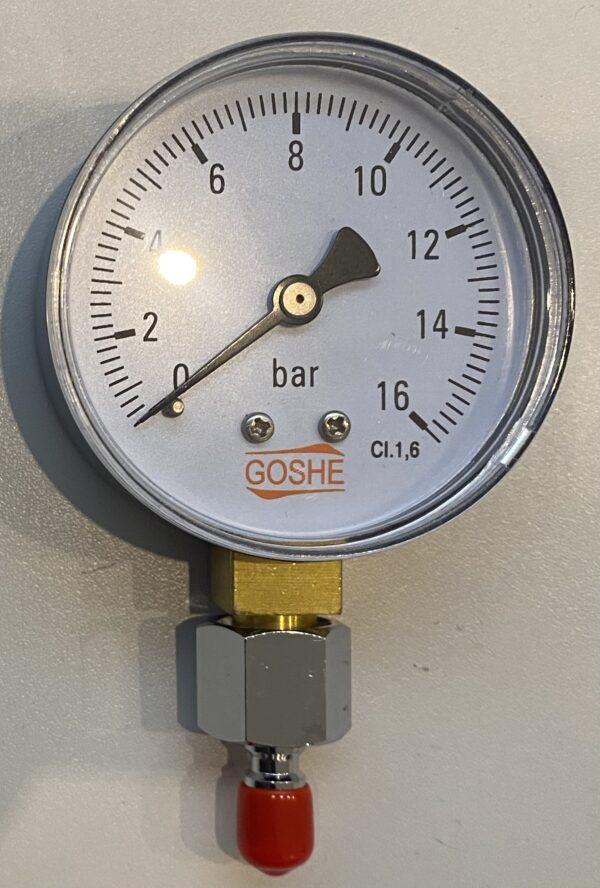 Goshe Mitteldruckmanometer mit Inflatoranschluss 1