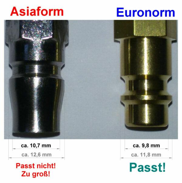 Adapter Inflator-Pressluft Asia 2