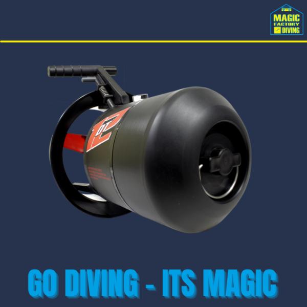 DT-12 DiverTug Scooter 1
