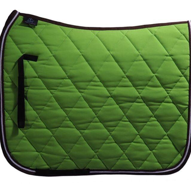 Schabracke Grün mit schwarzem rand Robi